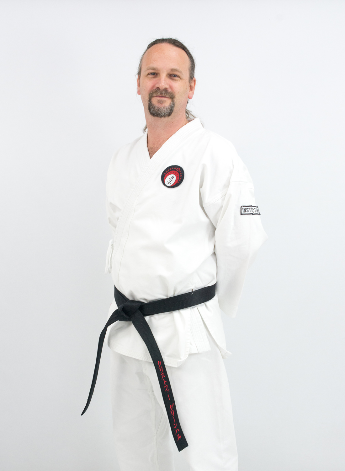 Sensei Chris Greenhalgh
